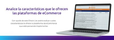 Check list características de las plataformas de eCommerce