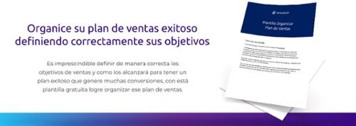 Plantilla organizar plan de ventas
